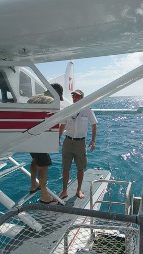 Outer Reef sea plane flight, Whitsundays, Queensland