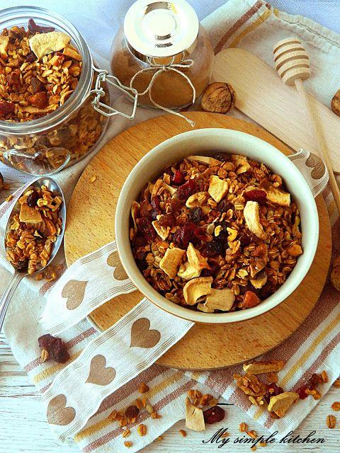 My simple kitchen: Domowa granola