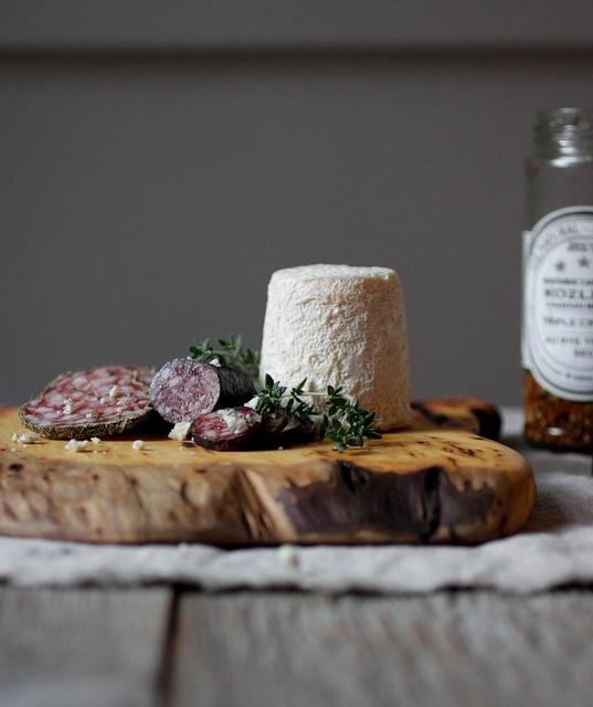 formaggio e salame