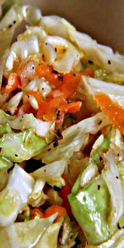 Pittsburgh Slaw - a magical blend that contains no mayo!