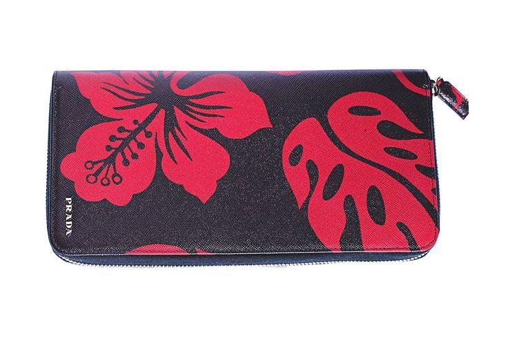 Prada's travel wallet.