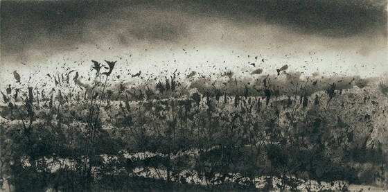Norman Ackroyd RA, Little Brancaster