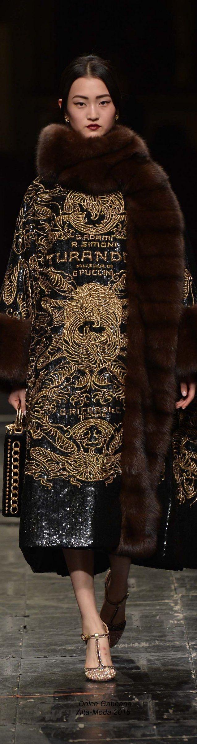 Dolce Gabbana Alta-Moda 2016