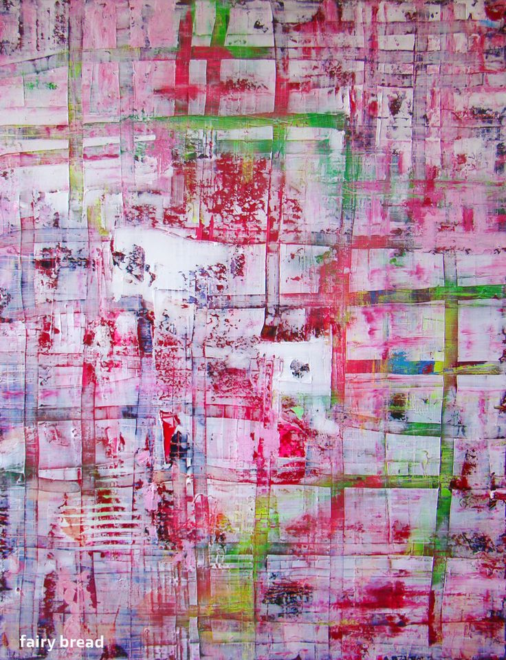 'Fairy Bread' Acrylic & Mixed Media On Canvas 1220mm x 915mm x 40mm AUD$800