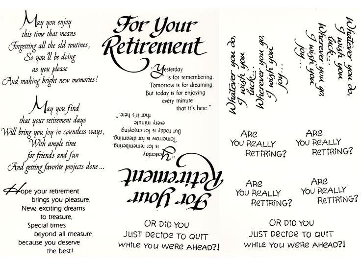 Z 6 Retirement Sentiments