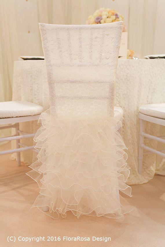 Chair CoversWedding Chair Cover Chiavari Chair от FloraRosaDesign
