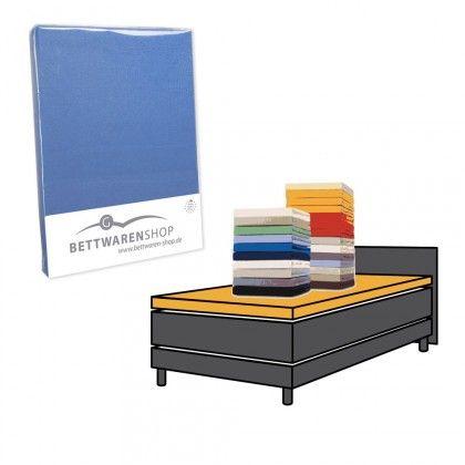 #beds #bedlinen Boxspring Topper Spannbettlaken Hausmarke 180x200 - 200x200 cm platin: Das Bettwaren-Shop Topper… #mattresses #pillows