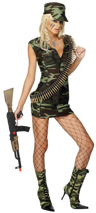 Combat Girl Costume, Occupation Fancy Dress - Occupations Costumes at Escapade™ UK - Escapade Fancy Dress on Twitter: @Escapade_UK