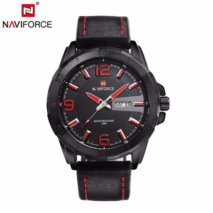 $32.71 (Buy here: https://alitems.com/g/1e8d114494ebda23ff8b16525dc3e8/?i=5&ulp=https%3A%2F%2Fwww.aliexpress.com%2Fitem%2FNAVIFORCE-Reloj-hombre-2016-Brand-Men-Military-Watches-Leather-strap-Men-Casual-Quartz-Watch-relogio-masculino%2F32693241780.html ) NAVIFORCE  Reloj hombre 2016 Brand Men Military Watches Leather strap Men Casual Quartz-Watch relogio masculino male army watch for just $32.71