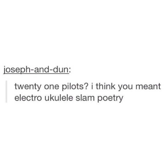 twenty one pilots has their own genre | ∙Music ...