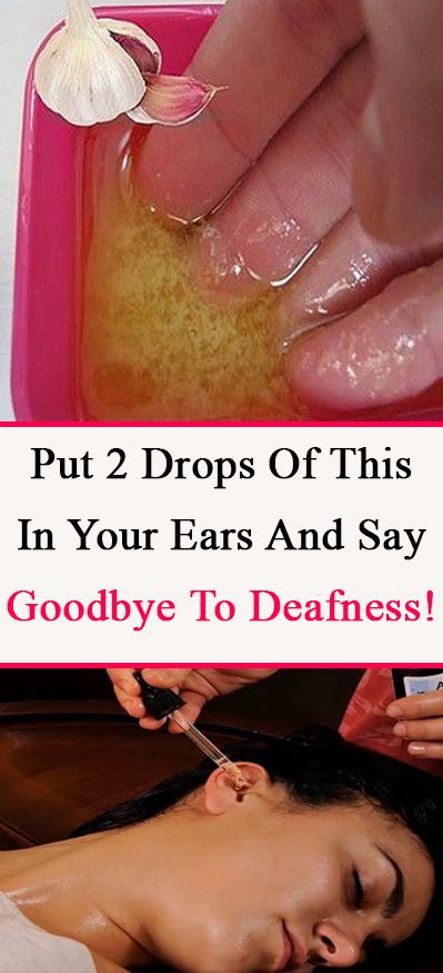 Put 2 Drops Of This In Your Ears And Say Goodbye To Deafness! This Powerful Remedy Will Return Your Hearing Up To %100!
