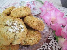 Dukan gotuje: Kokosowo - owsiane ciasteczka