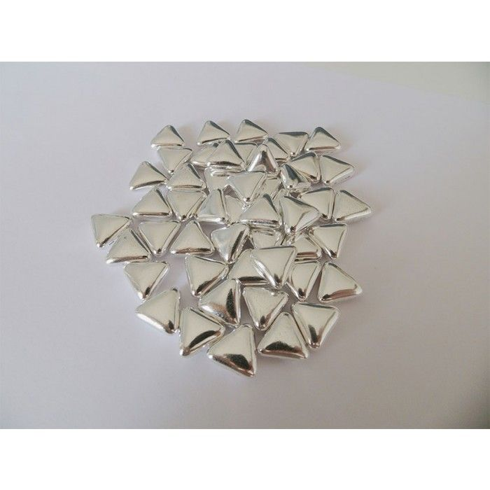 Αργυροκούφετα μνημοσύνου τρίγωνο 50 τεμάχια | Εφοδιαστική