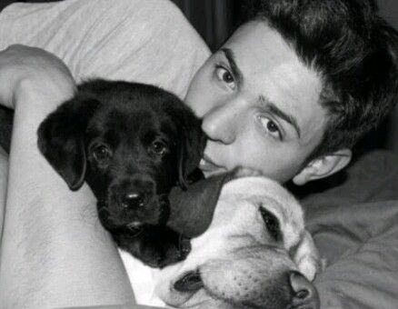 Carey Price. I'm convinced that a hockey player with a puppy or two is the most attractive thing on the face of the Earth.