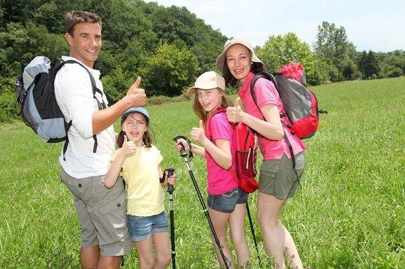 Senderismo con niños. Excursiones en familia
