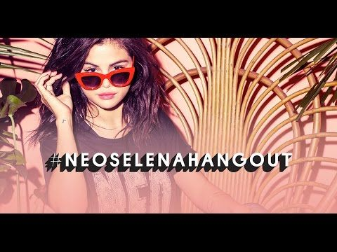 Selena Gomez Live Q&A with adidas NEO