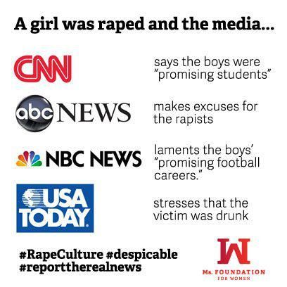 RESPONSES TO THE STEUBENVILLE VERDICT REVEAL RAPE CULTURE  by Lisa Wade, PhD, 1 day ago at 12:00 pm