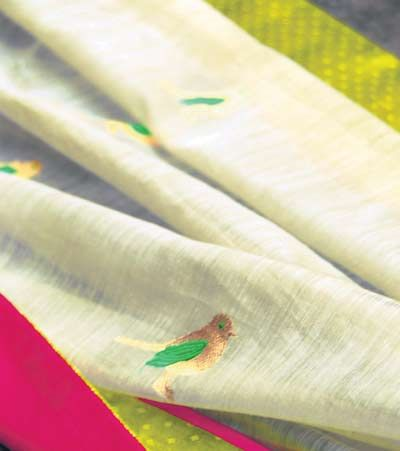 Chidiya Sari by Raw Mango