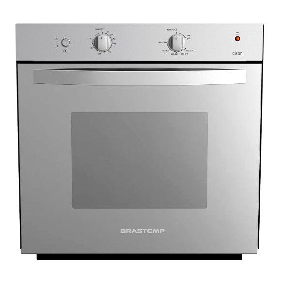 Compre o Forno a Gás de Embutir Brastemp Clean. É a opção perfeita para quem busca estilo na cozinha. Prepare os seus pratos com muito mais inovação.