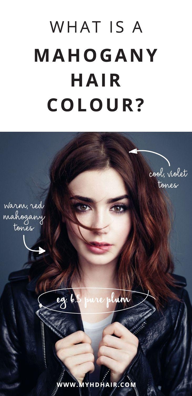 What is a Mahogany Hair Colour?