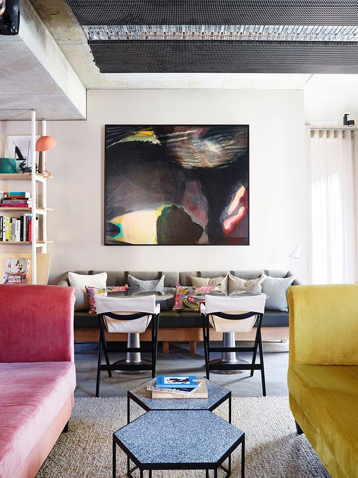 IN/OUT: Alex Hotel by Arent&Pyke featuring the Fionda chairs by Mattiazzi