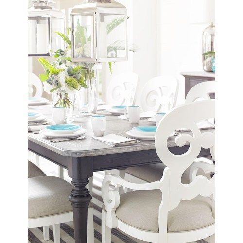 Stanley Furniture Coastal Living Retreat 9 Piece Rectangular Leg Table Set