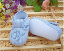 <January's Offer! Click Image to Buy!> New Cotton Lovely Baby Shoes Toddler Unisex Soft Sole Skid-proof 0-12 Months Kids infant Shoes L1 ~ Click the image for detailed description on  AliExpress.com #BabyShoes