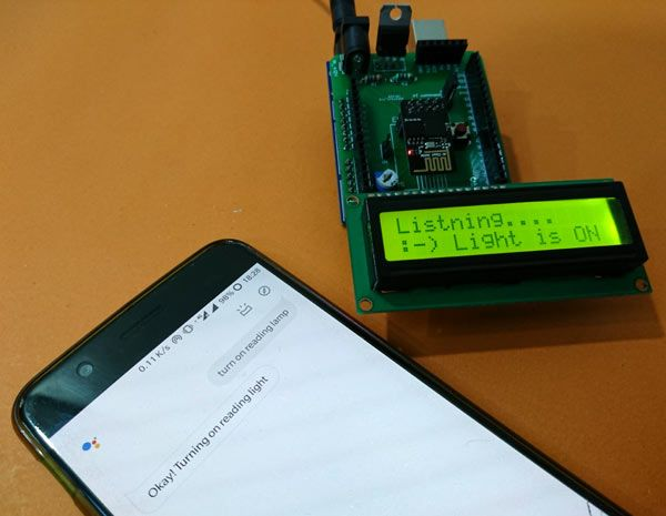 Testing Voice Controlled Home Automation Using Esp8266 And Arduino