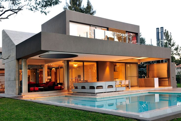 Original Modern Personality Displayed by Casa ST56 in Buenos Aires, Argentina