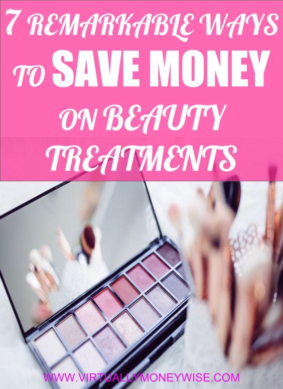 Save money on beauty treatments