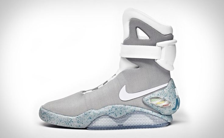 Nike MAG Sneakers - I know, they're over the top. That's the point. 1500 pairs will be made and auctioned on Ebay with all proceeds going to the Michael J. Fox Foundation