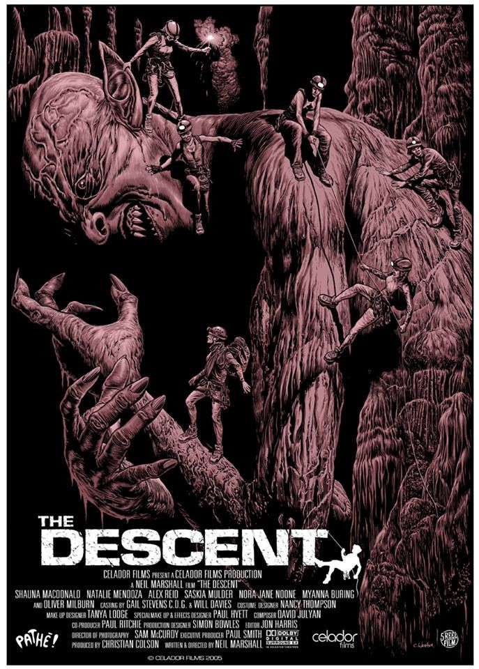 The Descent (2005) by Chris Weston