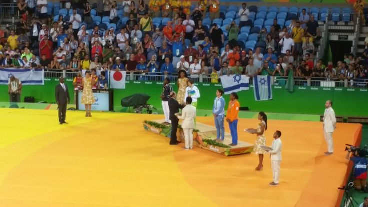 Team Slovenia (@TeamSlovenia) Tina Trstenjak (#SLO) won #gold in #Judo (women's 63kg)! Congrats!!! #Olympics #Rio2016