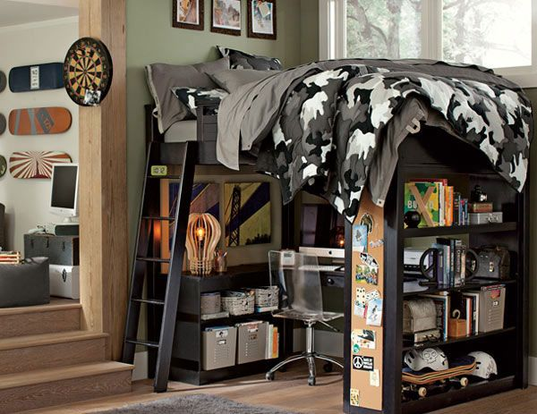 Camouflage Cool Ideas Boy's Bedroom