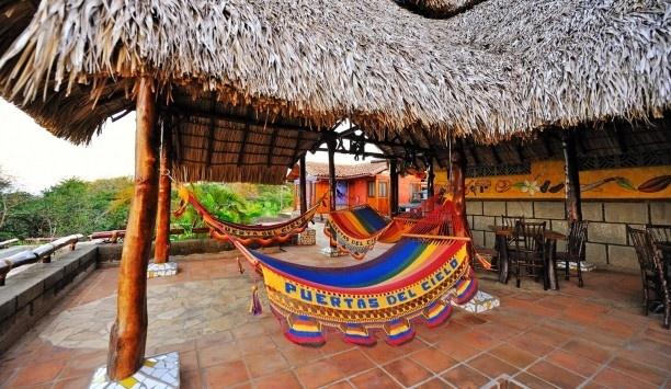 Relax in the hammocks or Hacienda Puerta del Cielo | Masatepe, Nicaragua #JetsetterCurator