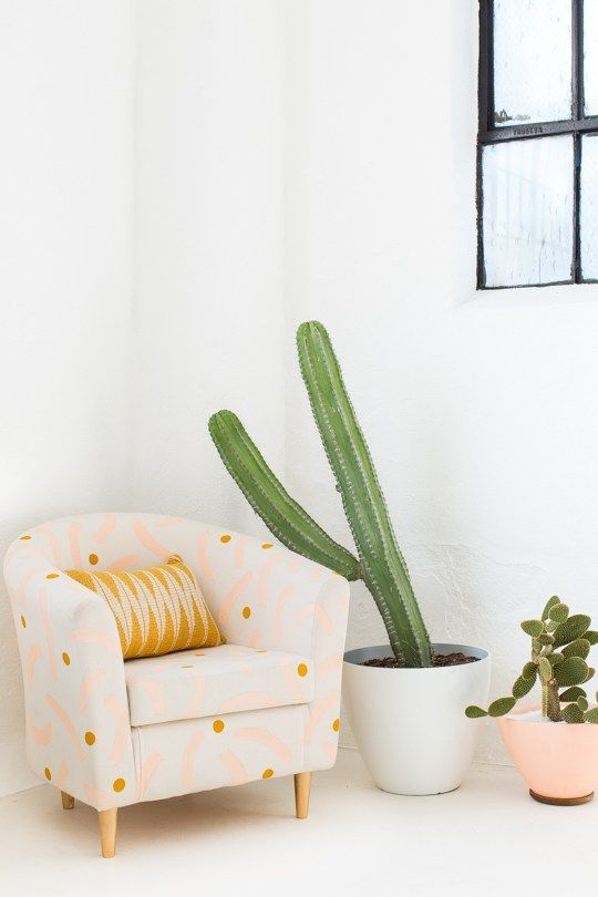 DIY Painted Chair Makeover | Sugar & Cloth