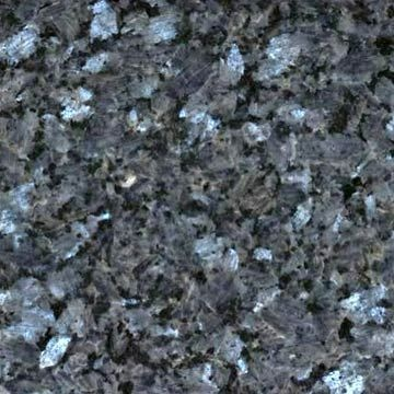 We just ordered this blue pearl granite countertop for the kitchen. It has gorgeous grays and silvers throughout.