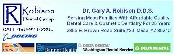 Delta Dental AZ Dentist Dr. Gary Robison