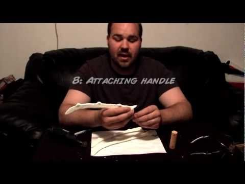 How to make Wolverine Bone Claws - YouTube