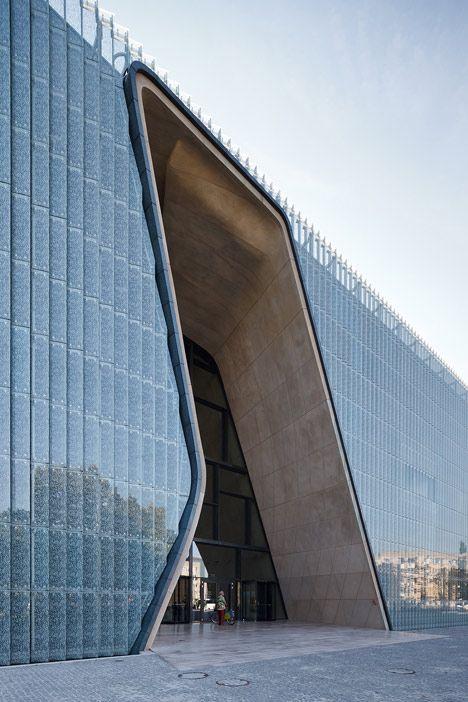 Museum of the History of Polish Jews by Lahdelma & Mahlamäki Architects