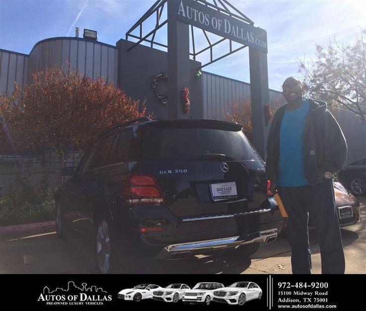Congratulations Marlow on your MercedesBenz GLKClass