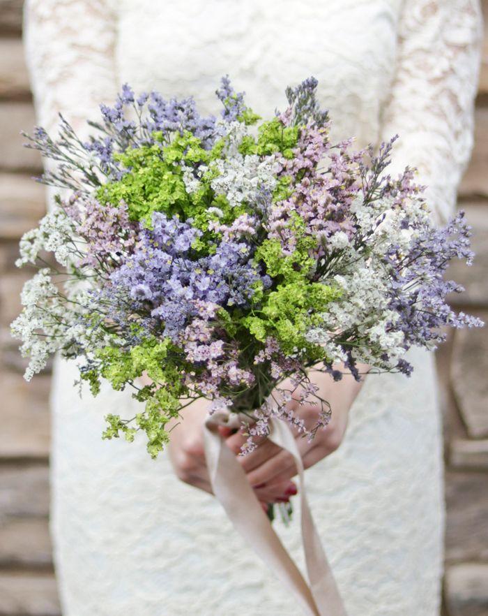 Diy Bouquet Wispy Pastel Bouquet Cheap Wedding Flowers Simple Wedding Flowers Wedding Flowers