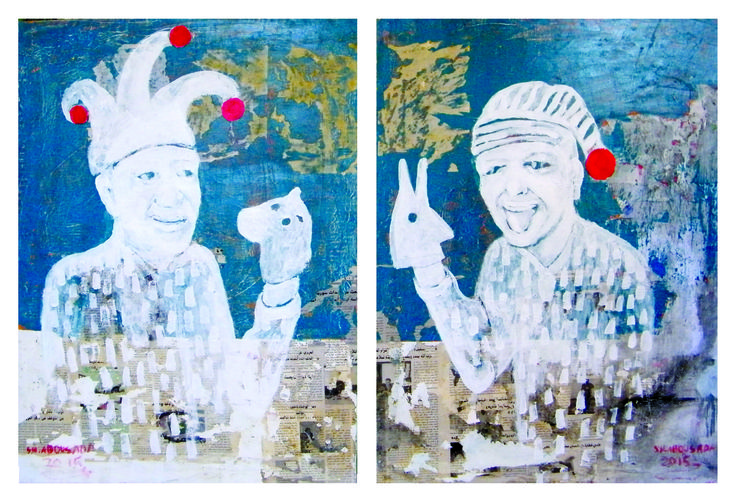 Mixed media on canvas 80 x 120 cm 2015 @Mark Hachem Gallery #shadi_abousada #syrian_artist #شادي_أبوسعدة #shadiabousada #art #painting #shadow #markhachemgallerybeirut #artwork #acrylic #pink #artgallery #fineart #color #canvas #contemporary #exihibtion #beirut #gemmayzeh #dubai #lebanon #syria #holland #paris #painting #bullfighting #shadow #jordan