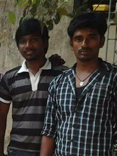 me and my friend venkat