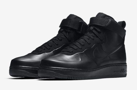 Release Date: Nike Air Force 1 Foamposite Triple Black
