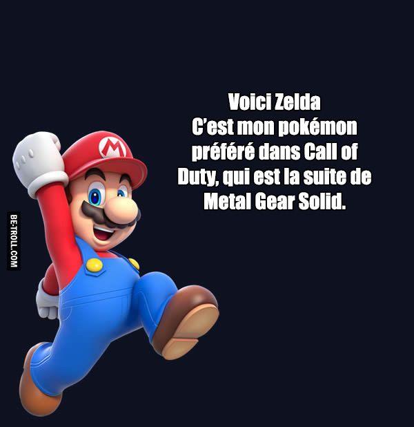 Voici Zelda ! - Be-troll - vidéos humour, actualité insolite