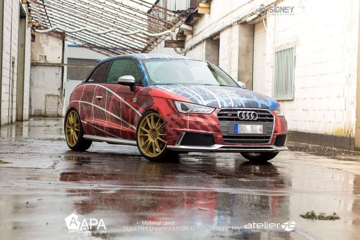 Audi Spider Man Car Wrap Design Pinterest Audi And Cars