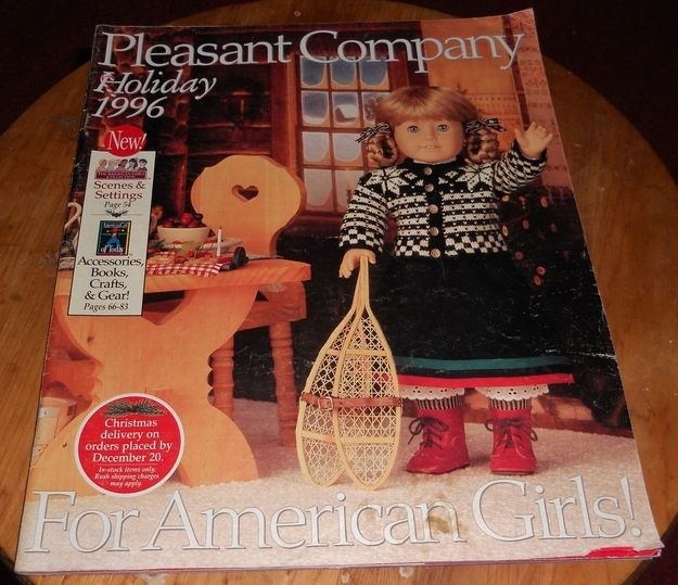 Holiday 1996 | 10 American Girl Doll Catalogs From Your Past