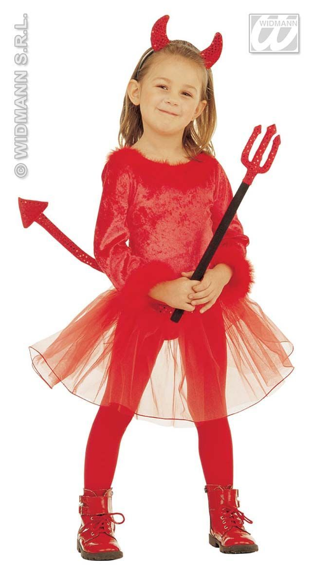 duivel meisje kostuum