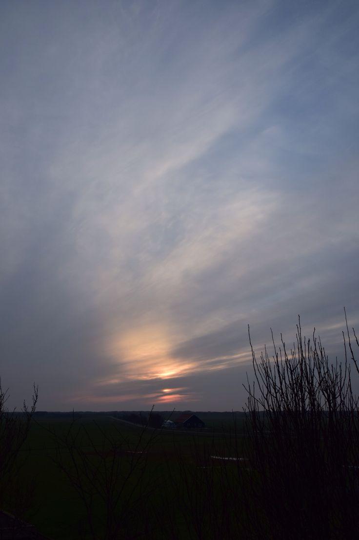Zonsondergang ameland